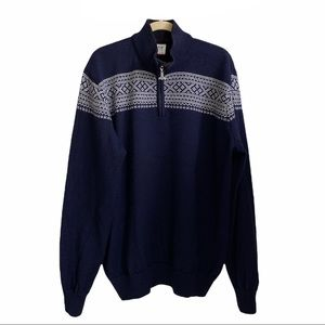 Dale of Norway ¼ Zip Pullover Sweater